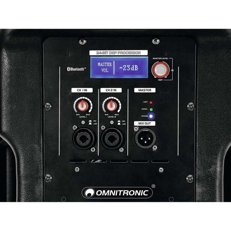 OMNITRONIC XKB-212A 2-Wege Lautsprecher, aktiv, DSP – Bild 5