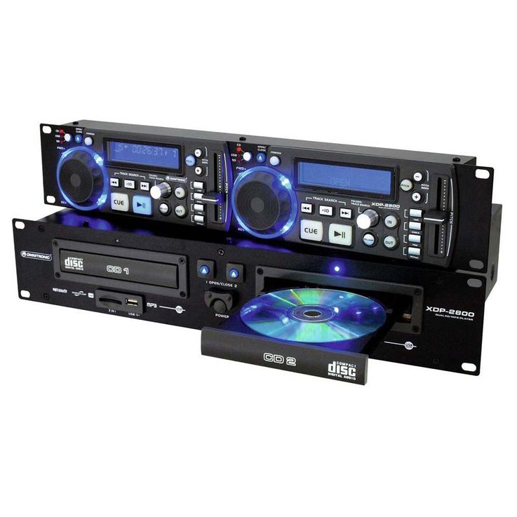 OMNITRONIC XDP-2800 Dual-CD-/MP3-Player – Bild 4