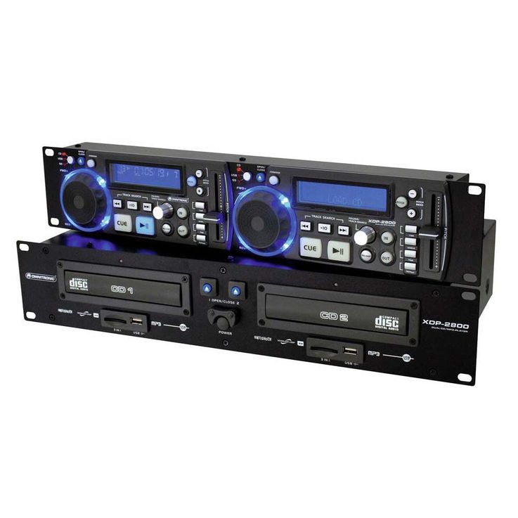OMNITRONIC XDP-2800 Dual-CD-/MP3-Player 11046030 – Bild 6