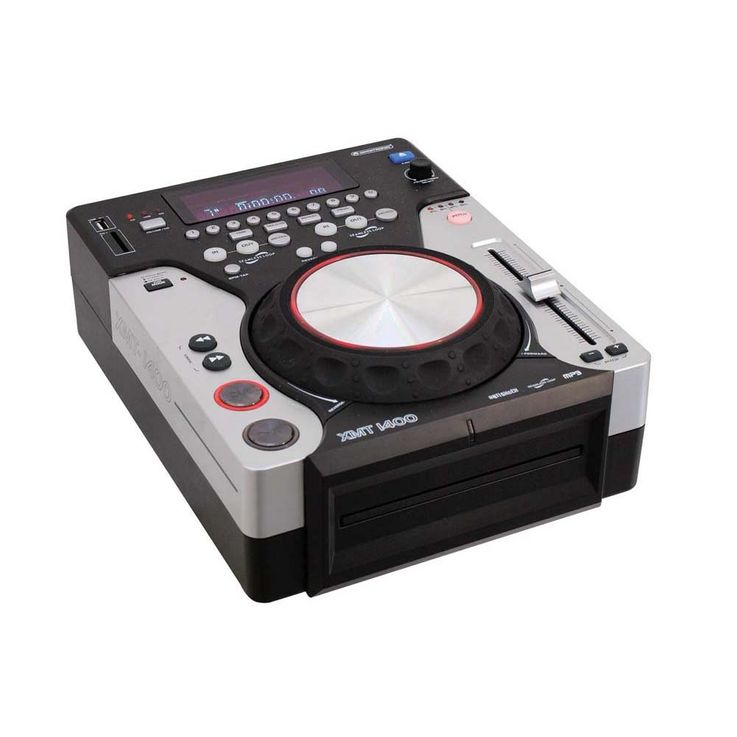 OMNITRONIC XMT-1400 Tabletop-CD-Player – Bild 1