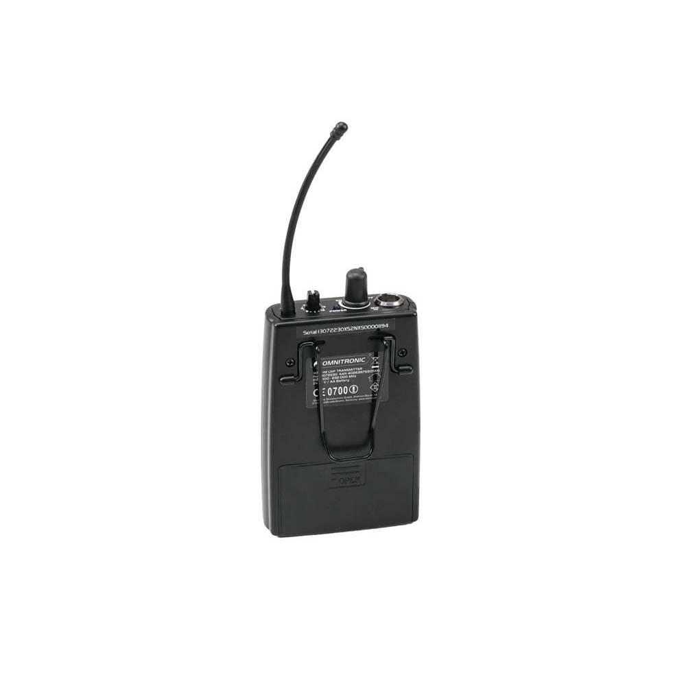 OMNITRONIC WMT-1M UHF-Sender, mono – Bild 2