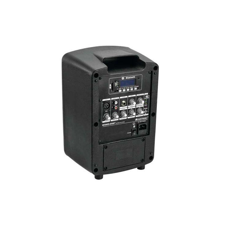 40W Mobile Musikanlage mit USB/SD und UHF-Funkempfänger – Bild 3