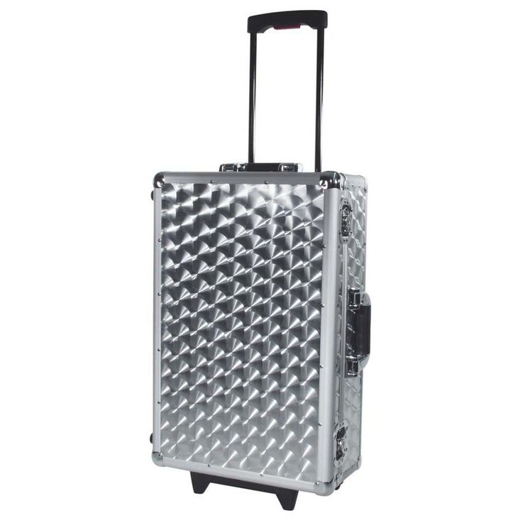 ROADINGER CD-Case poliert 120 CDs mit Trolley 30122088 – Bild 1
