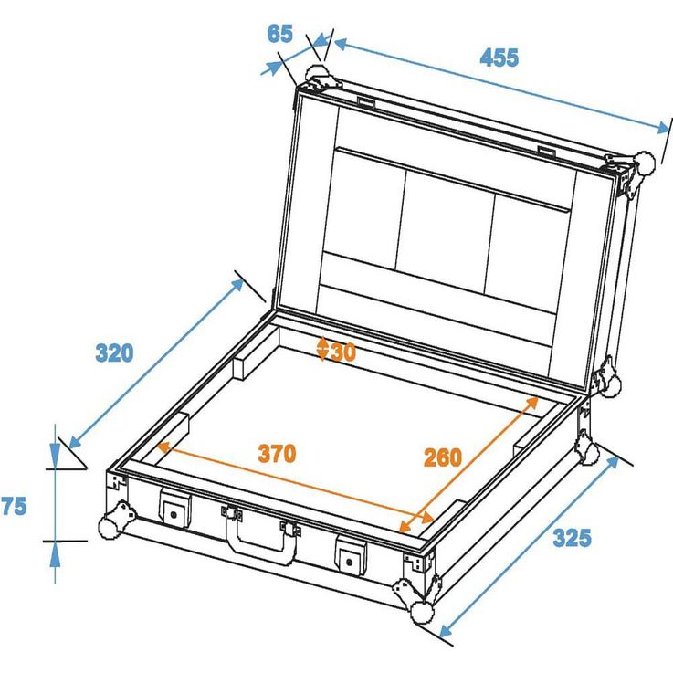 ROADINGER Laptop-Case LC-15 maximal 370x255x30mm – Bild 2