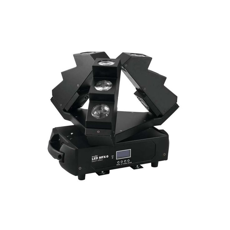EUROLITE LED MFX-9 Strahleneffekt 50944308 – Bild 1