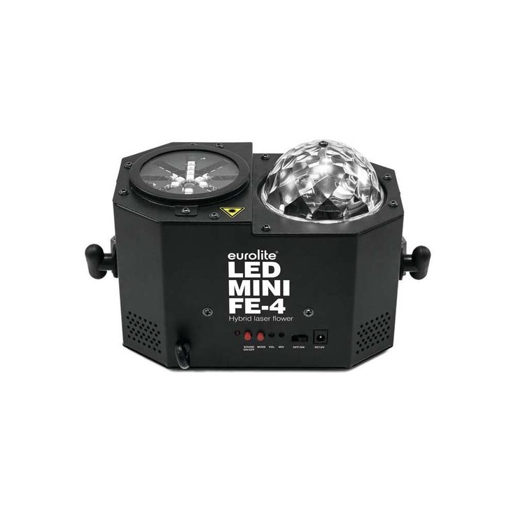 EUROLITE LED Mini FE-4 Hybrid Laserflower 51741071 – Bild 5