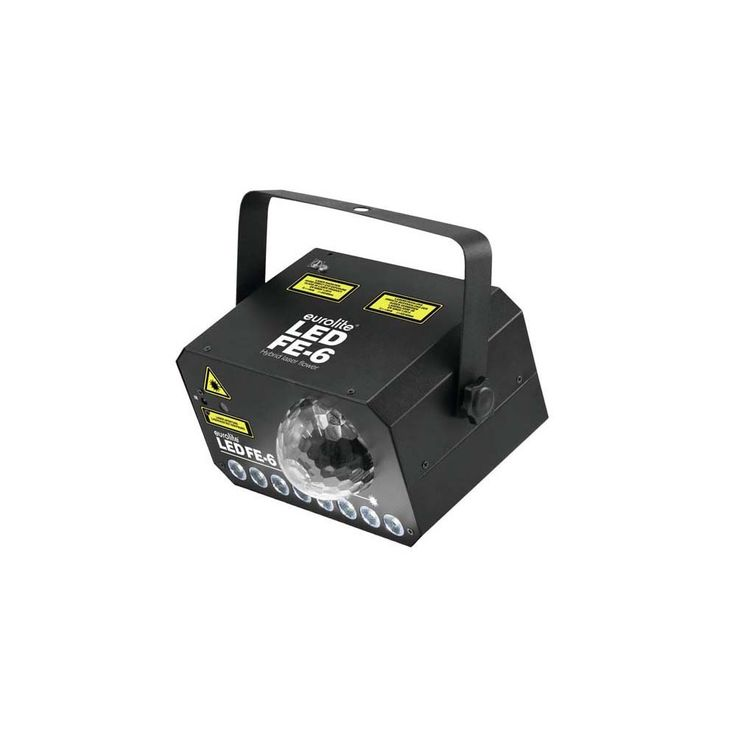 EUROLITE LED FE-6 Hybrid Laserflower 51741072 – Bild 2