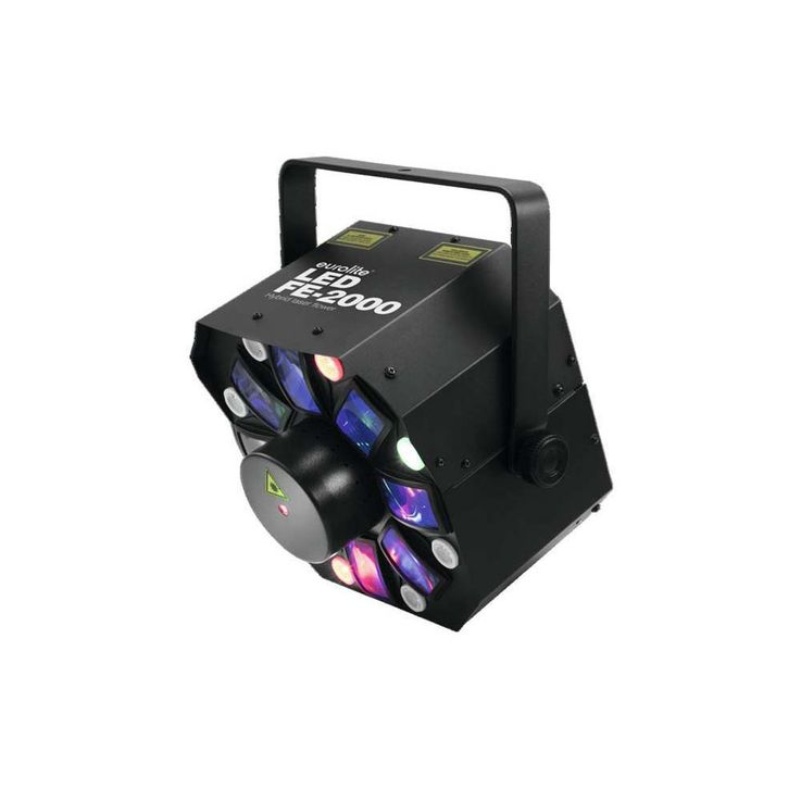 EUROLITE LED FE-2000 Hybrid Laserflower 51741082 – Bild 1