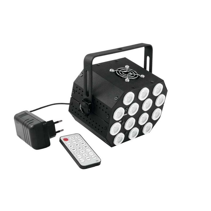 EUROLITE LED PS-46 RGB 14x1W Flash Spot 51913523 – Bild 2