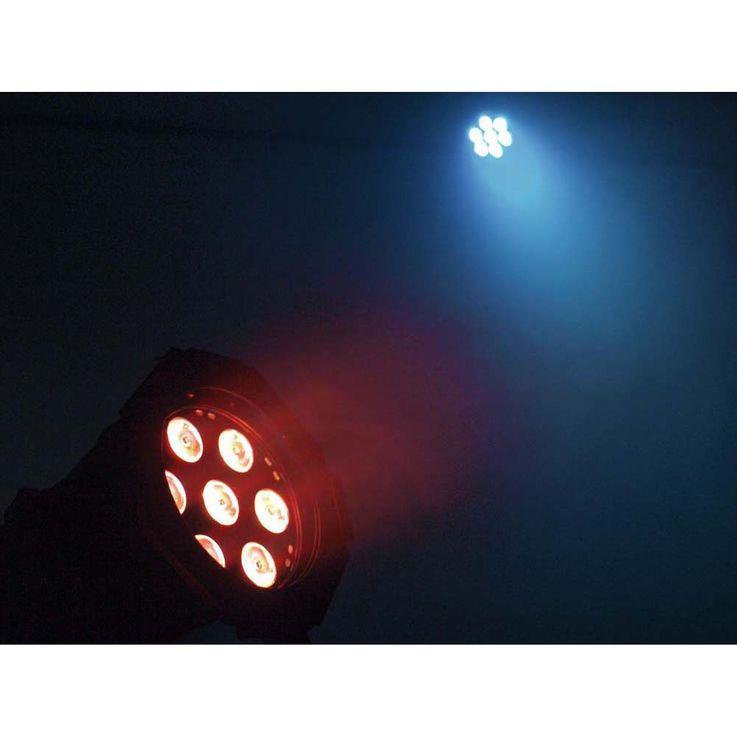 EUROLITE LED ML-30 QCL 7x8W Floor sil – Bild 5