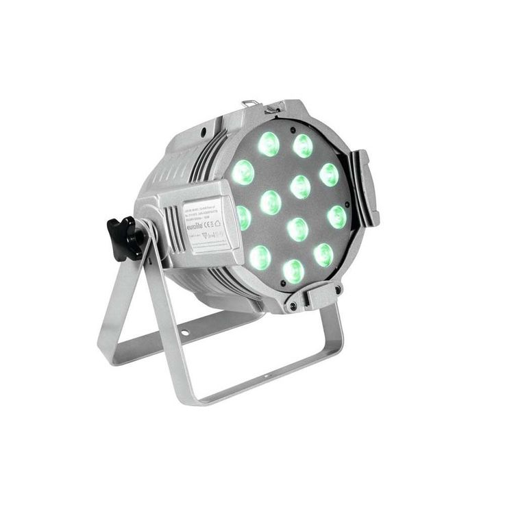 EUROLITE LED ML-56 HCL 12x10W Floor sil – Bild 5