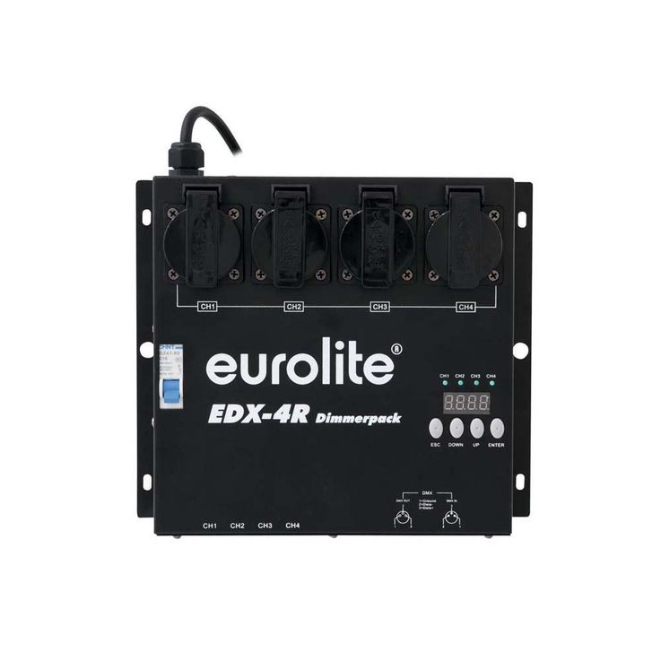 EUROLITE EDX-4R DMX RDM Dimmerpack – Bild 1