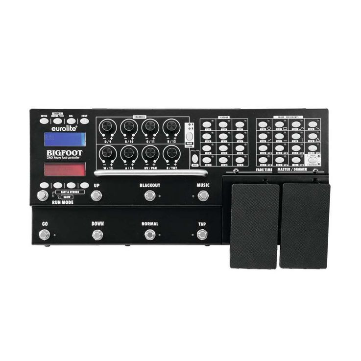EUROLITE DMX Move Bigfoot Fußcontroller 192 – Bild 2