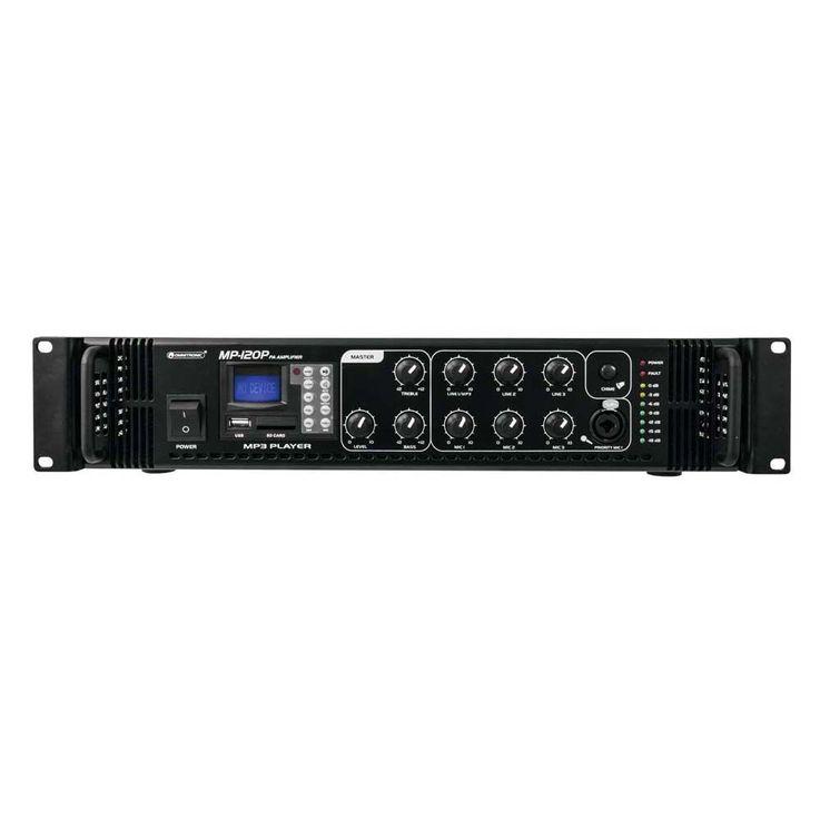 OMNITRONIC MP-120P ELA-Mischverstärker 80709621 – Bild 4