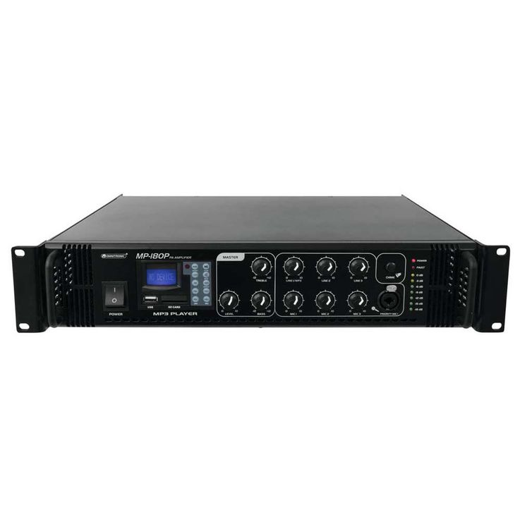 OMNITRONIC MP-180P ELA-Mischverstärker – Bild 1