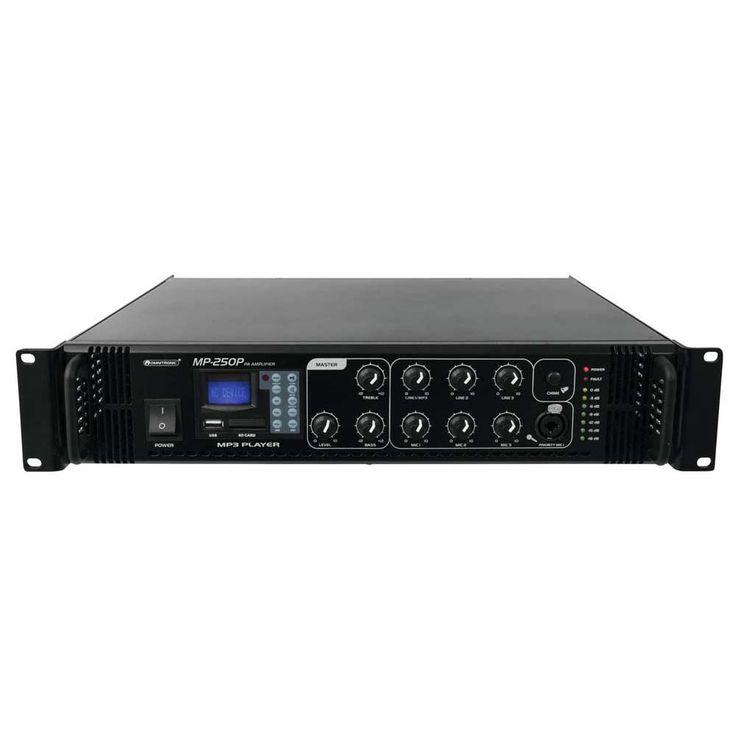 OMNITRONIC MP-250P ELA-Mischverstärker 80709641 – Bild 1