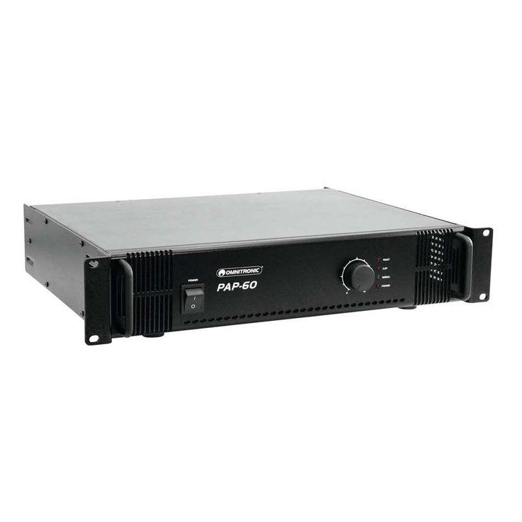 OMNITRONIC PAP-60 ELA-Verstärker 80709804 – Bild 1
