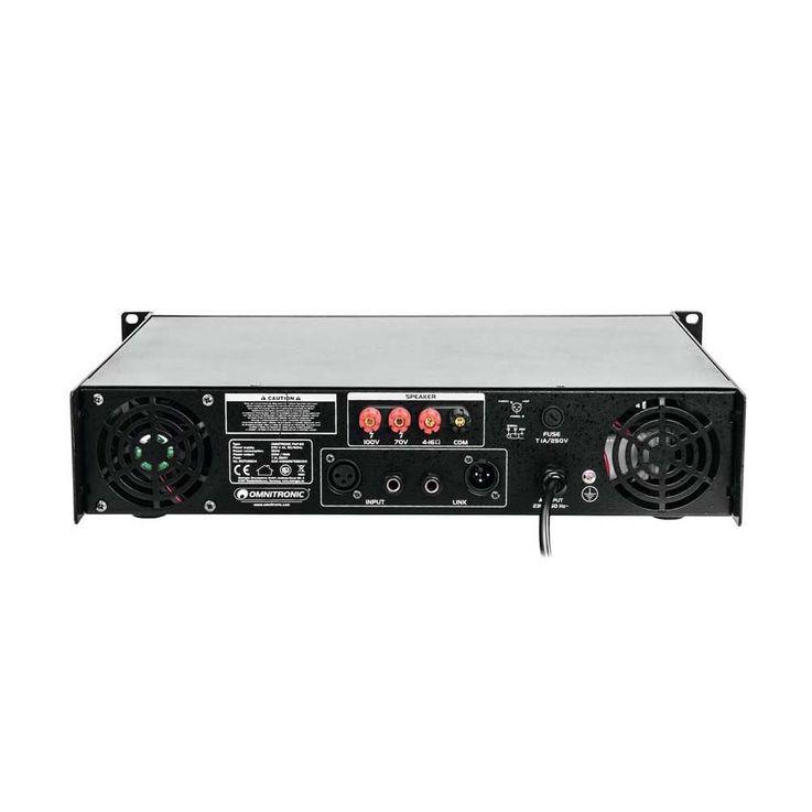 OMNITRONIC PAP-60 ELA-Verstärker – Bild 4