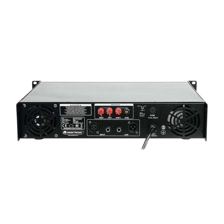 OMNITRONIC PAP-120 ELA-Verstärker – Bild 4