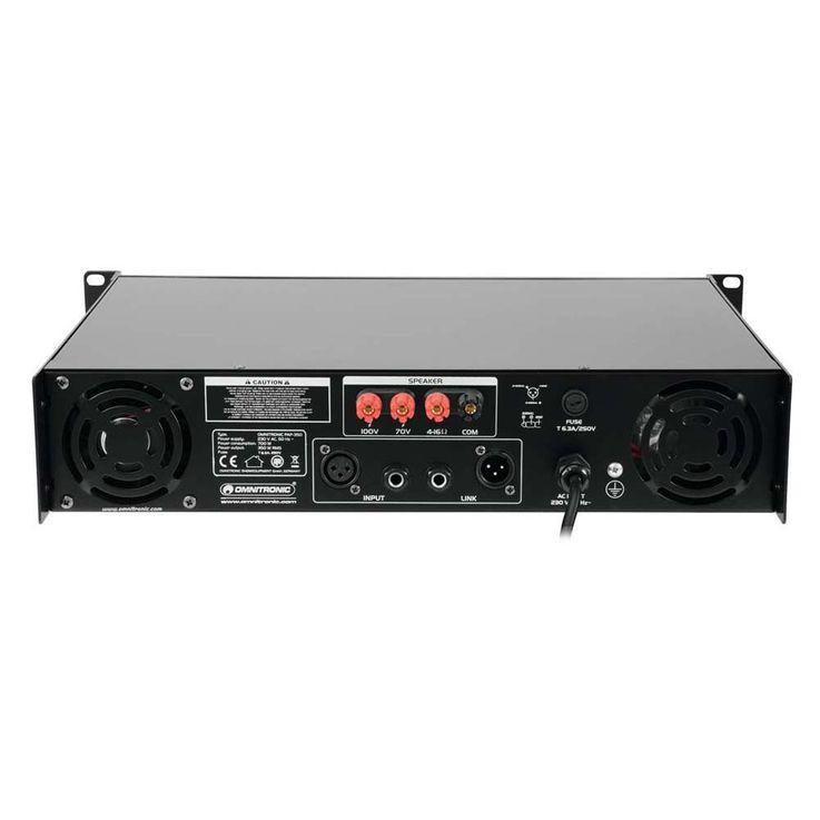 OMNITRONIC PAP-350 ELA-Verstärker 80709810 – Bild 5