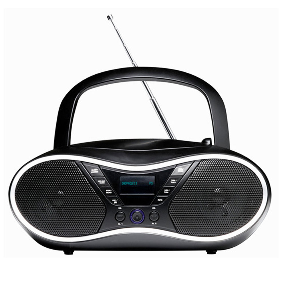 tragbare musik anlage cd player camping radio usb stereo. Black Bedroom Furniture Sets. Home Design Ideas