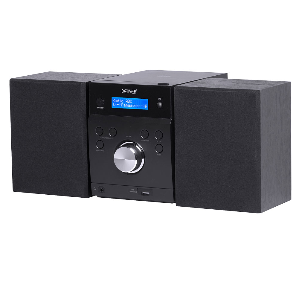denver mda 240 stereoanlage mit cd dab musik digitalradio. Black Bedroom Furniture Sets. Home Design Ideas