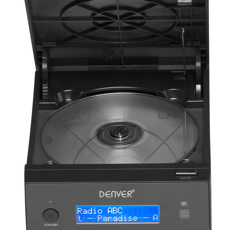 CD Player Timer Stereo Music System Speakers Equalizer USB CD Remote Control Denver MDA-240 – Bild 7