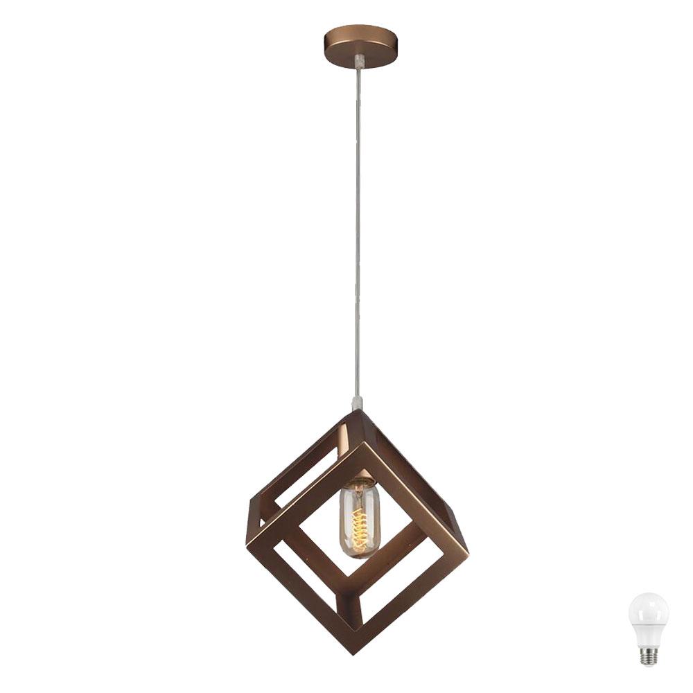 Moderne LED Hängeleuchte im Käfig Design aus Metall VT-7161 ...