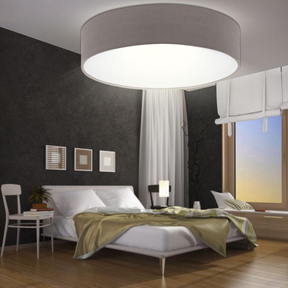 rgb led deckenlampe aus textil das schlafzimmer revilla. Black Bedroom Furniture Sets. Home Design Ideas