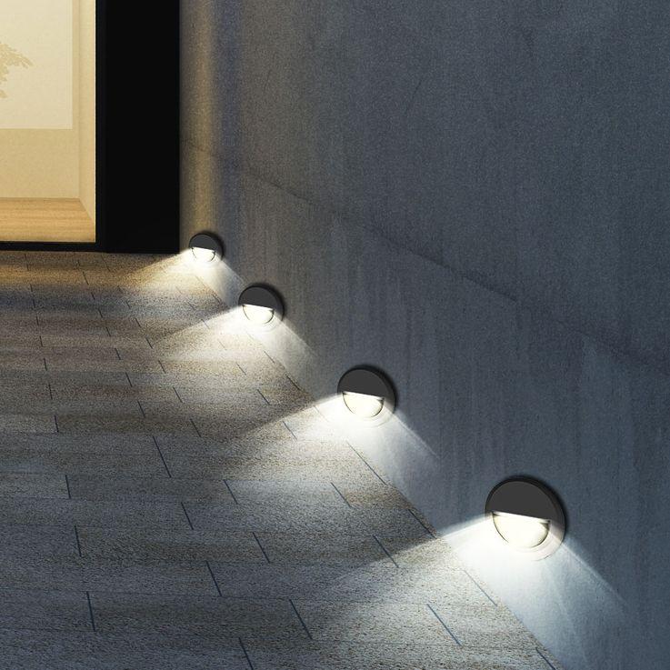 Design LED Fassaden Wandleuchte für Ihren Garten VT-1142 – Bild 4