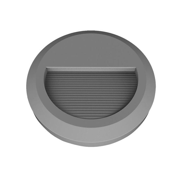 LED Outdoor wall lamp Staircases Floor lamp Spotlight round gray EEK A V-TAC 1318 – Bild 1