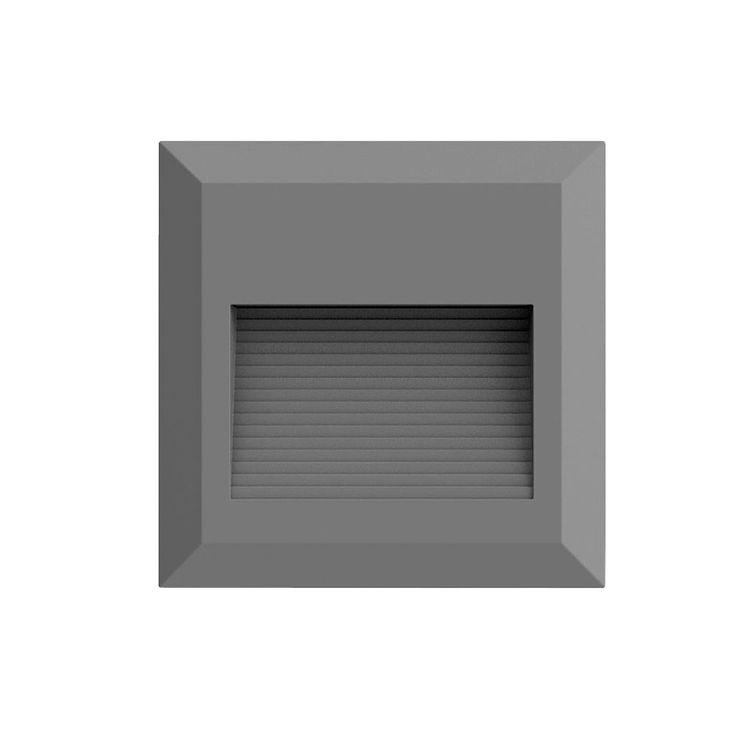 LED Wand Leuchte Fassaden Veranda Treppen Beleuchtung Strahler grau EEK A V-TAC 1324 – Bild 1