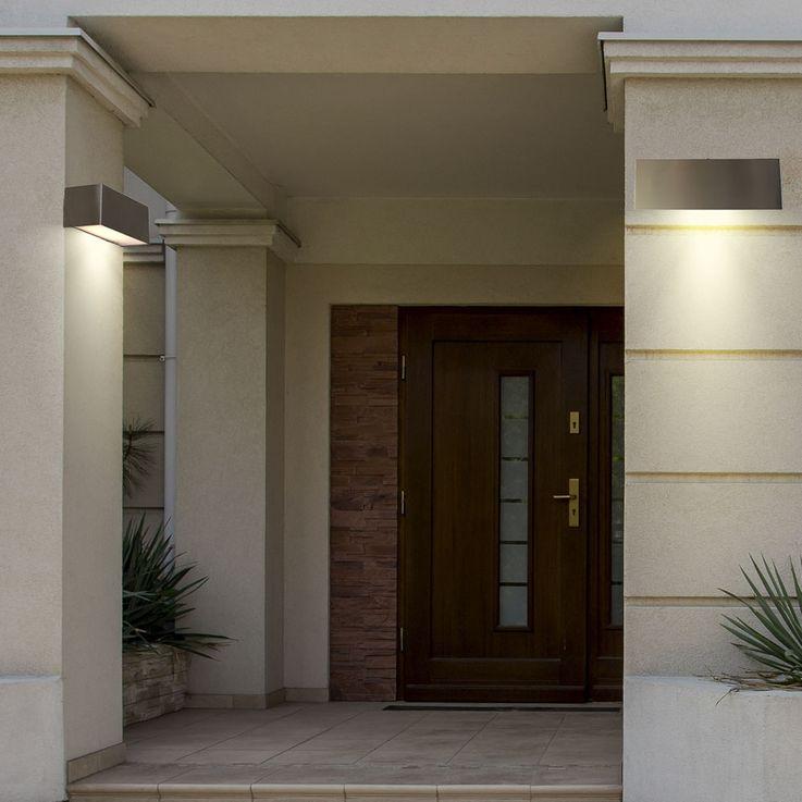 LED Outdoor wall light Spotlight Porch lamp UP & DOWN EEK A + Lutec ST 791 LED – Bild 3