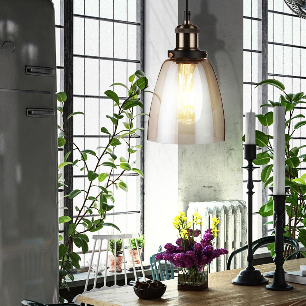 design pendelleuchte aus glas f r den wohnraum vt 7140. Black Bedroom Furniture Sets. Home Design Ideas
