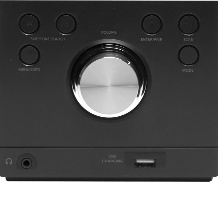 CD Player Timer Stereo Music System Speaker Equalizer USB CD Remote Control incl Headphones – Bild 4