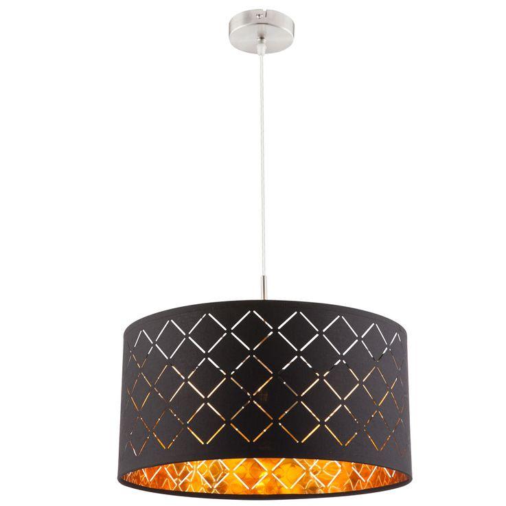 Design Pendelleuchte aus Textil für Ihren Wohnraum CLARKE – Bild 1
