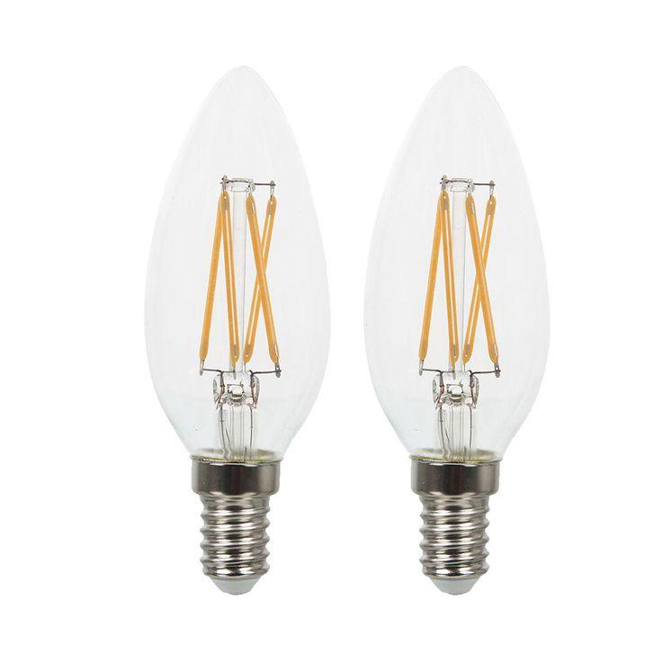 Jeu de 2 ampoules LED 4 W avec prise E14 EEK A ++ VT-1986 – Bild 1