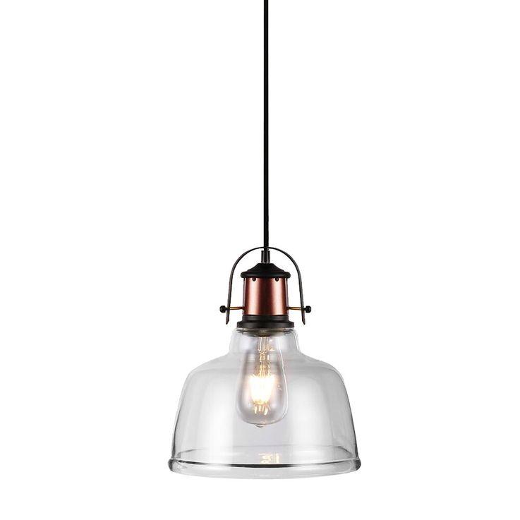 Retro pendant lamp living room industry country house style ceiling lamp glass lamp Vtac 3727 – Bild 1