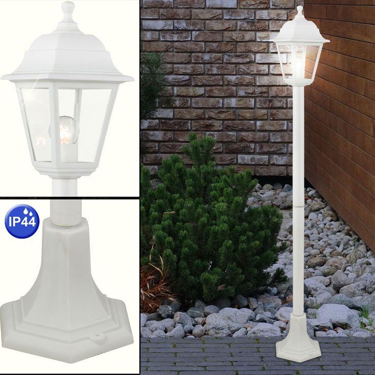 High quality floor lamp IP44 white outdoor lighting stand lamp spotlight lantern Globo 31878 – Bild 3