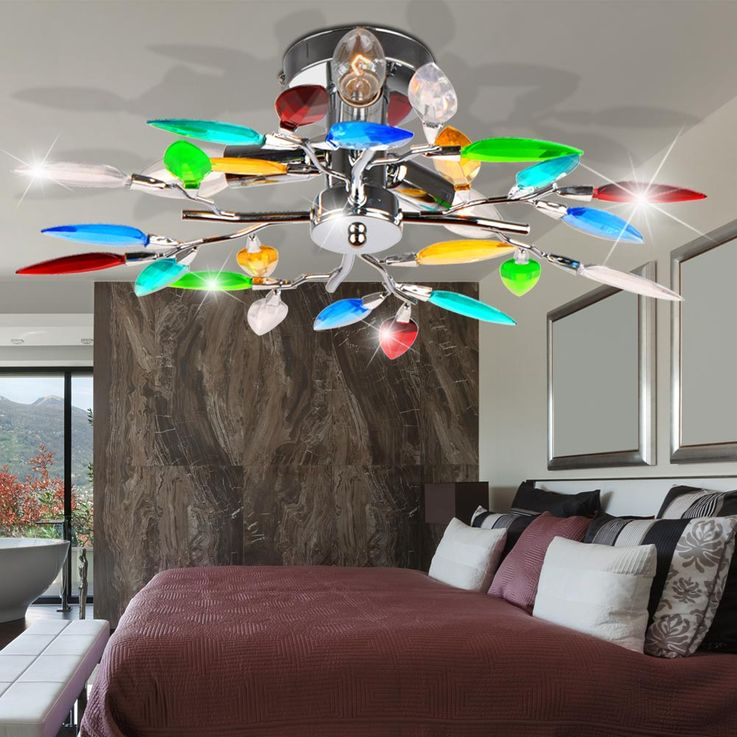 Ceiling light optionally with LED or RGB LED illuminant – Bild 3