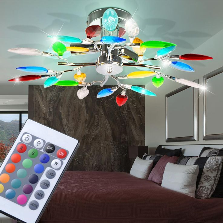 Ceiling light optionally with LED or RGB LED illuminant – Bild 6