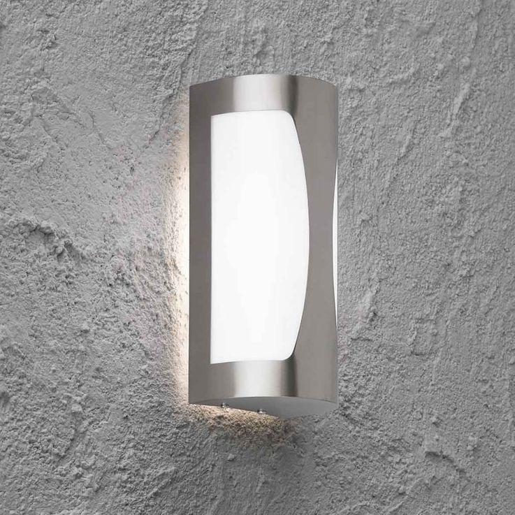 Outdoor wall lamp garden IP44 1 bulb lighting striking shape Wofi 4039.01.97.7002 – Bild 3