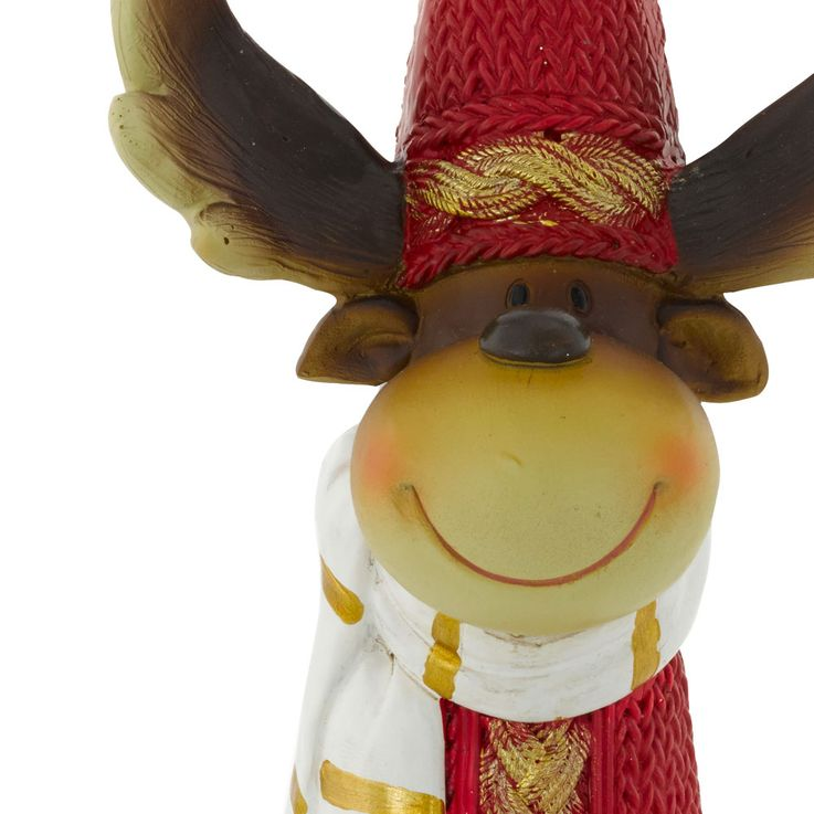 Set of 2 Christmas reindeer for winter decoration – Bild 4