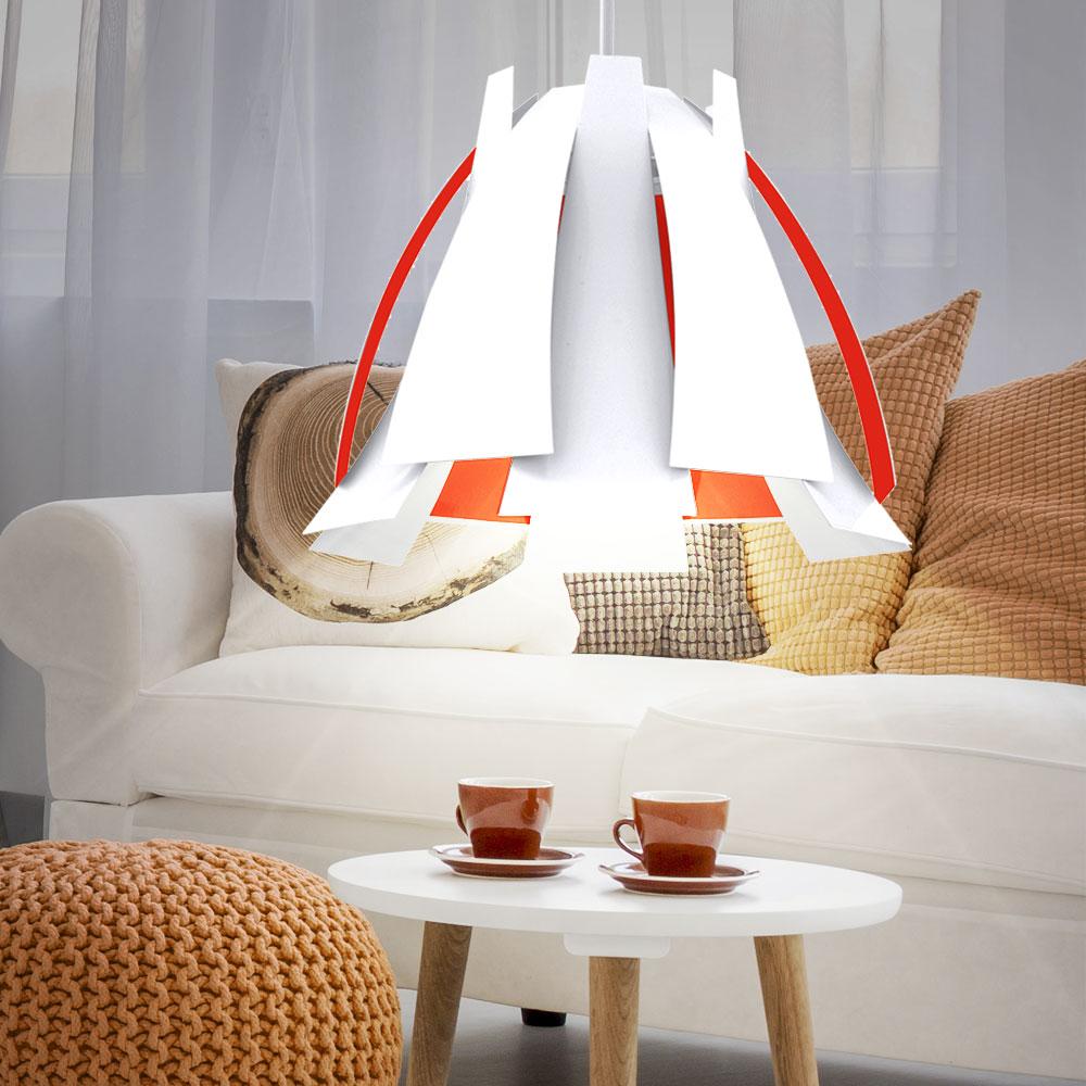 Rgb led suspendu Lampe pendule salle à manger plafond trous lampe variateur télécommande