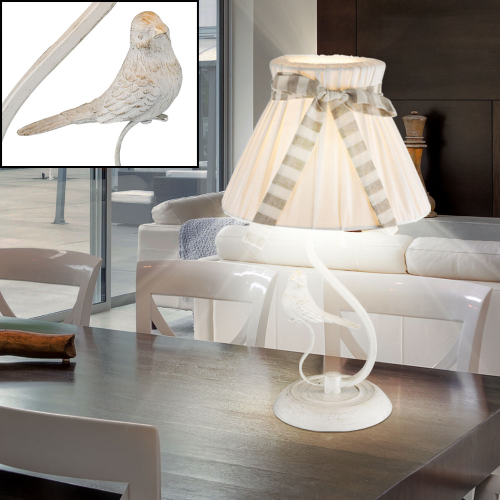 led tischleuchte mit vogel f r ihren wohnraum savio unsichtbar lampen m bel innenleuchten. Black Bedroom Furniture Sets. Home Design Ideas