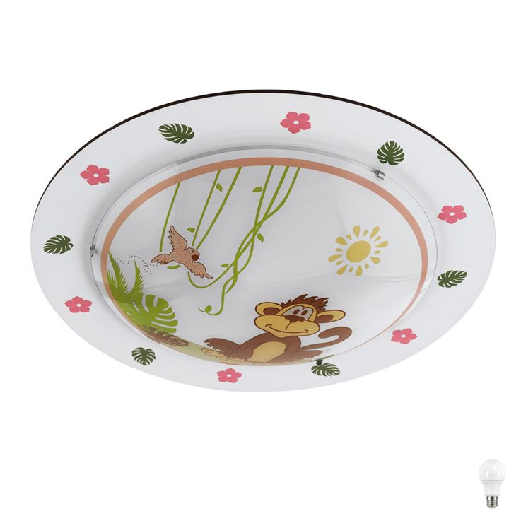 LED ceiling light with animal motifs for the playroom LOUIE – Bild 1