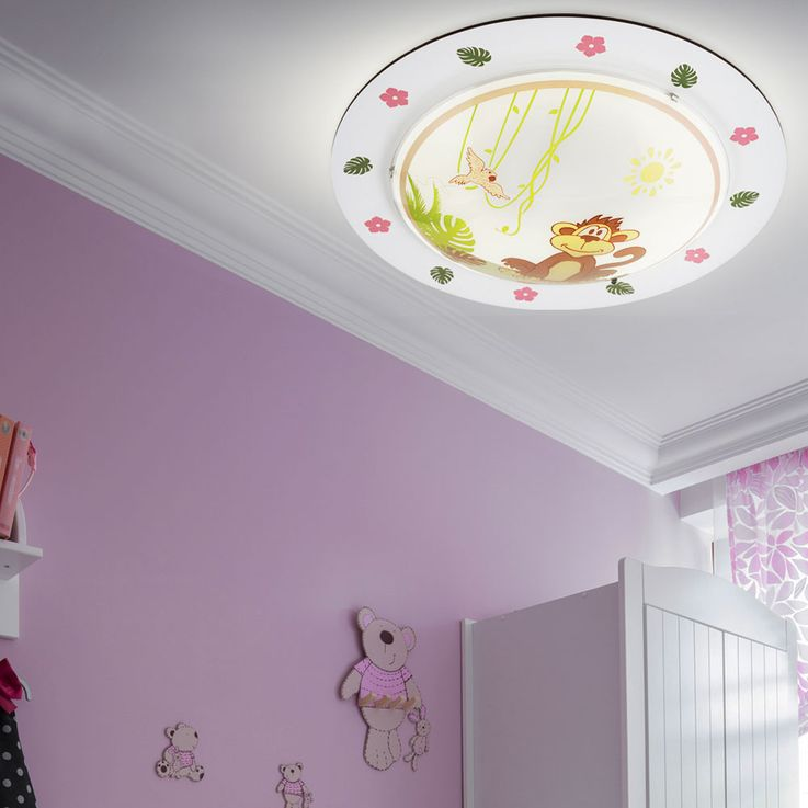 LED ceiling light with animal motifs for the playroom LOUIE – Bild 3