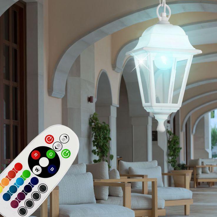 High quality outdoor RGB LED pendant light LUCA – Bild 2