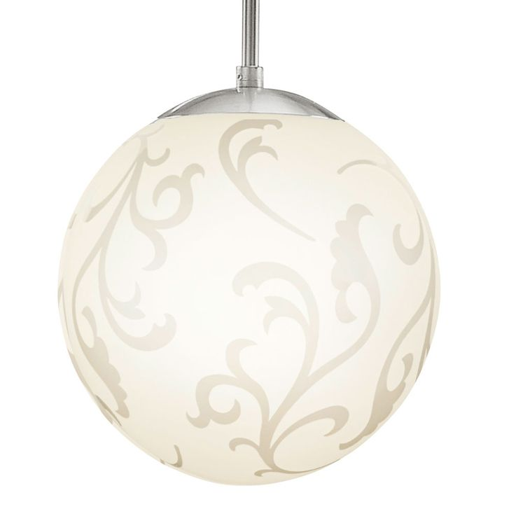 RGB LED glass pendant with decorative pattern REBECCA – Bild 7