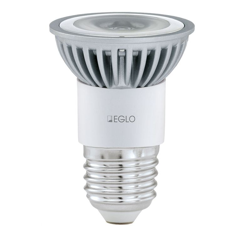 3W LED bulb E27 reflector spotlight 4200 K neutral white bulb 115 lm EEK A bulb Eglo12455 – Bild 1